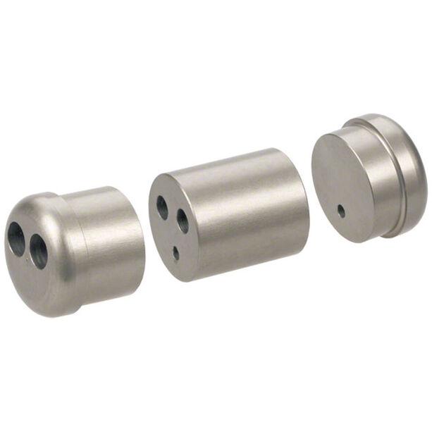 Problem Solvers Kabel-Doppler 1 Hebel/2 Bremsen silver