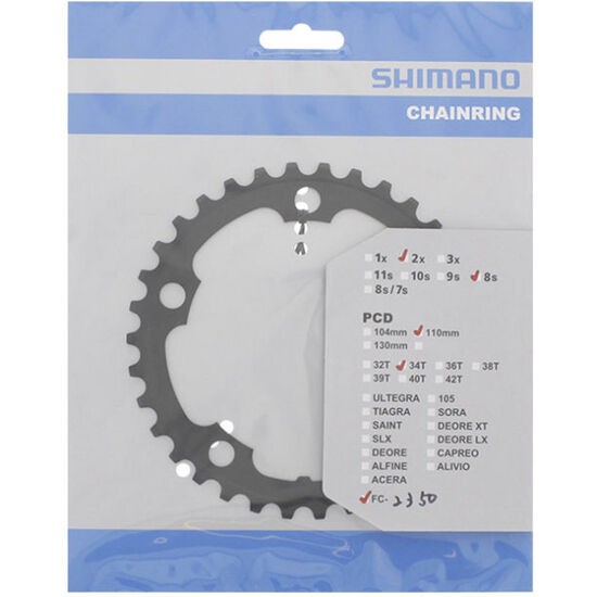 Shimano Road FC-2350 Kettenblatt 7/8-fach bei fahrrad.de Online