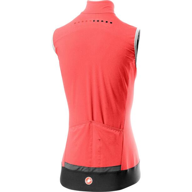 Castelli Perfetto Rain Or Shine Weste Damen brilliant pink
