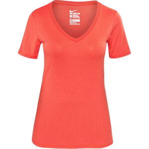 Nike Legend 2.0 Shortsleeve T-Shirt V-Neck Damen lt crimson/lt crimson lt crimson/lt crimson