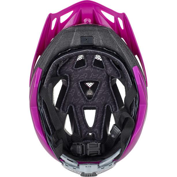 KED Street Jr. Pro Helmet Kinder violet