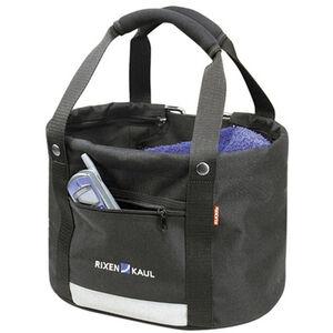 KlickFix Shopper Comfort Fahrradtasche Mini schwarz schwarz