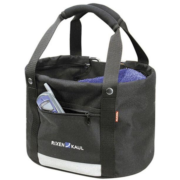 KlickFix Shopper Comfort Fahrradtasche Mini schwarz