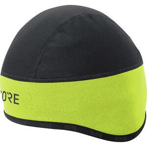 GORE WEAR C3 Windstopper Helmet Cap Unisex neon yellow/black bei fahrrad.de Online