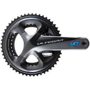 Stages Cycling Power R Powermeter Kurbelarm mit 52/36Z Kettenblatt für Ultegra R8000 black black