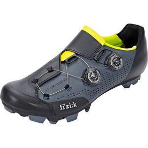 Fizik Infinito X1 MTB Schuhe Herren grau/gelb fluo grau/gelb fluo