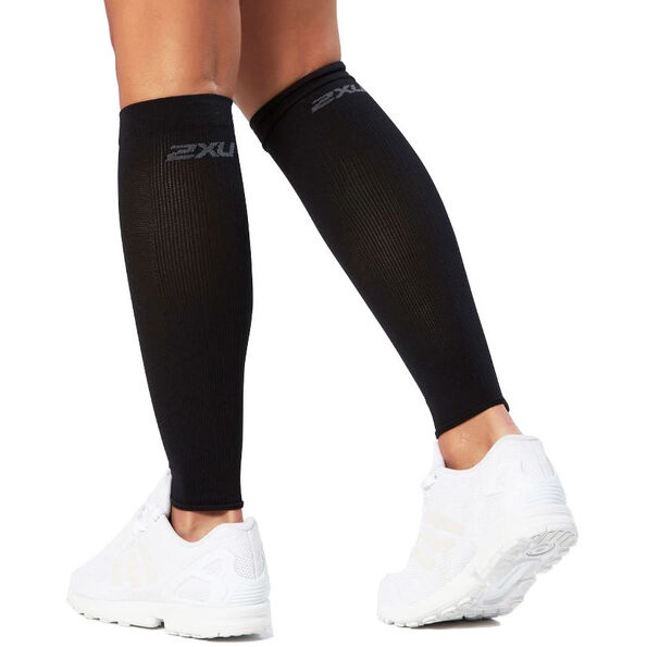 2XU Compression Performence Run Calf Sleeves black/black