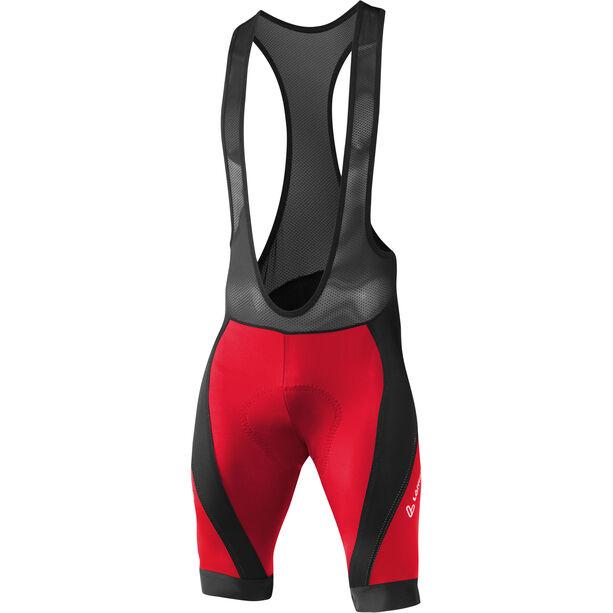 Löffler Hotbond Reflective XT Bike Trägerhose Herren schwarz/rot