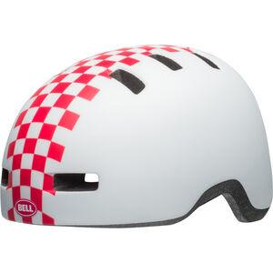Bell Lil Ripper Helmet Kinder matte white/pink check matte white/pink check