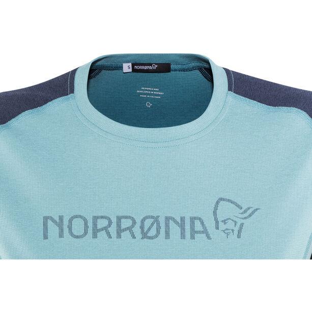 Norrøna Fjørå Equaliser Lightweight T-Shirt Damen trick blue