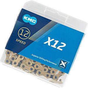 KMC X12 Ti-N Kette 12-fach gold/schwarz gold/schwarz