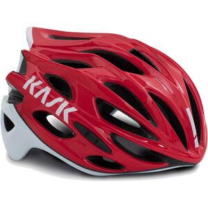 Kask Mojito X Helm rot/weiß rot/weiß