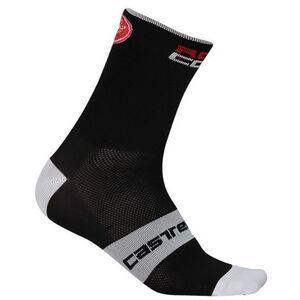 Castelli Rossocorsa 6 Socks black black