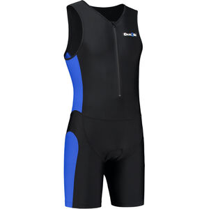 Dare2Tri Frontzip Trisuit Herren black-blue black-blue