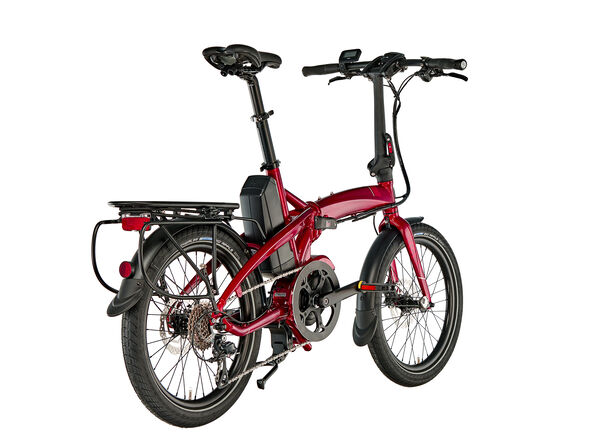 tern Vektron P9 dark red/red
