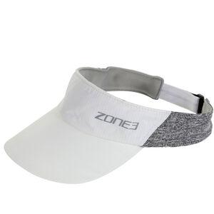 Zone3 Lightweight Race Visor white/charcoal marl/relective silver white/charcoal marl/relective silver