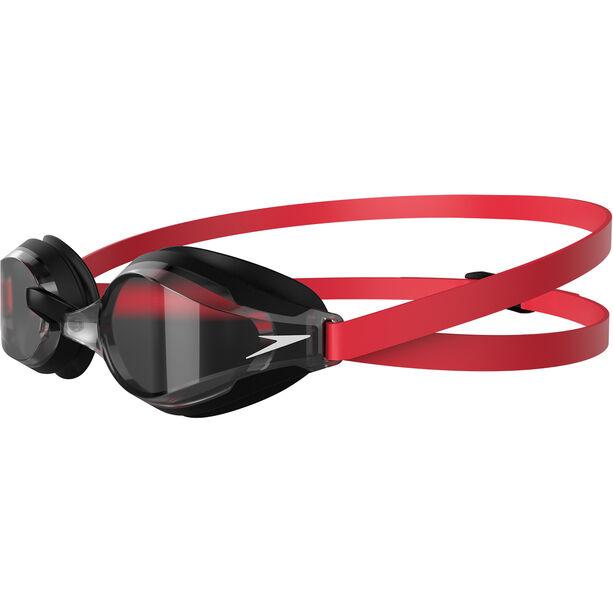 speedo Fastskin Speedsocket 2 Brille lava red/white/smoke
