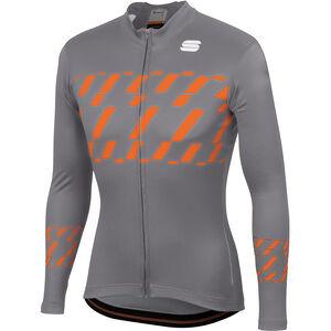 Sportful Tec-Trix Langarm Trikot Herren cement/orange sdr cement/orange sdr