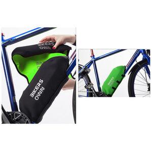BIKERSOWN Rahmen-Akkuschutz für Yamaha schwarz/grün