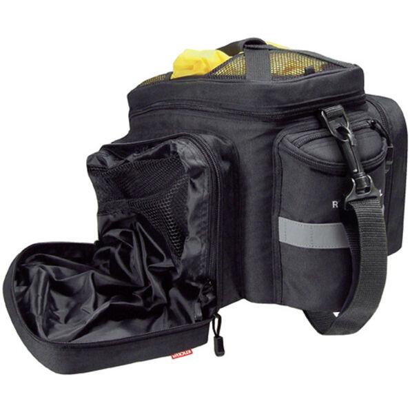 KlickFix Rackpack 2 Plus Gepäckträgertasche für Racktime schwarz