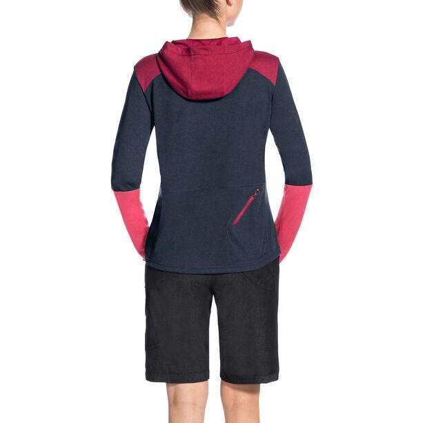 VAUDE Tremalzo LS Shirt Damen eclipse/pink