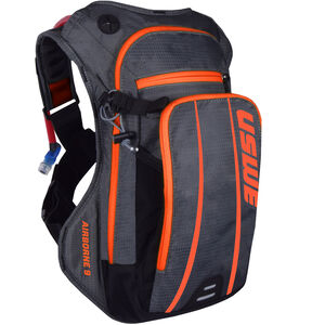 USWE Airborne 9 Rucksack grey/orange grey/orange