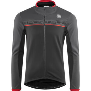 Sportful Giro Softshell Jacket Men black/anthracite/red bei fahrrad.de Online