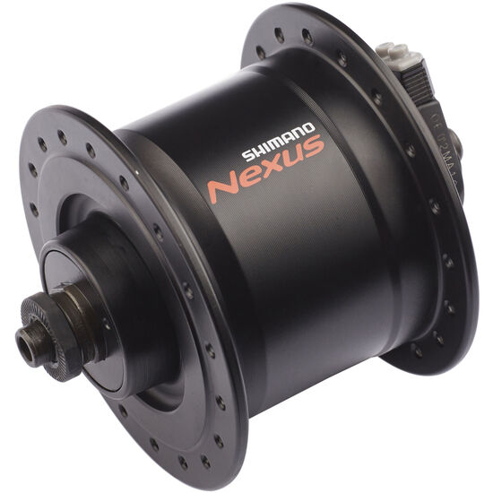 Shimano Nexus DH-C3000-3N Nabendynamo 3 Watt für Felgenbremse/Schnellspanner Schwarz bei fahrrad.de Online