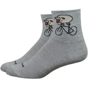 """DeFeet Wooleator Comp 3"""" Socken rad sheep/lead rad sheep/lead"""