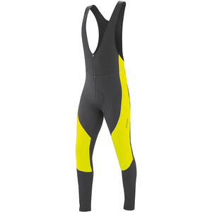 Gonso Montana V3 Thermo Rad Trägerhose Herren black/safety yellow black/safety yellow
