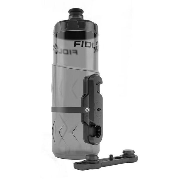 Fidlock Twist Flasche 600ml inklusive Halterung clear
