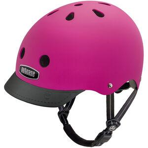 Nutcase Street Helmet Kinder fuchsia matte fuchsia matte