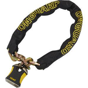 Onguard Beast 8017 Kette mit Bügelschloss 110 cm schwarz/gelb schwarz/gelb