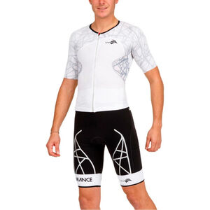 KiWAMi Spider LD Aero Trisuit black/white black/white
