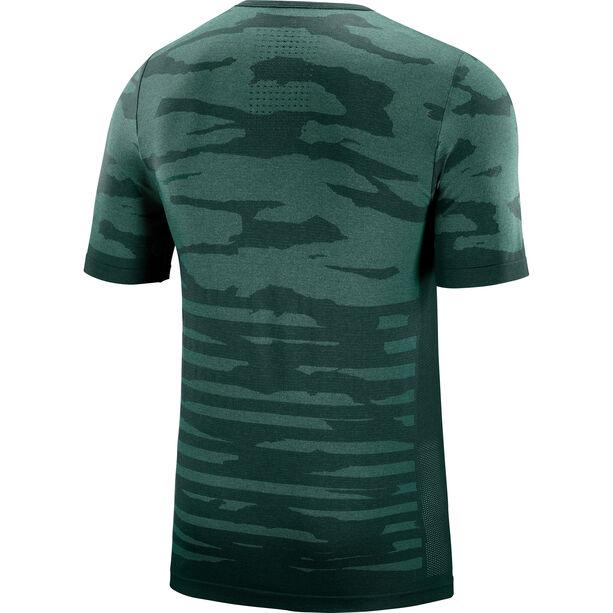 Salomon XA Camo T-Shirt Herren green gables/heather