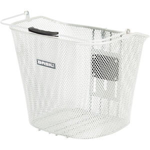 Basil BaSimply EC Vorderradrad-Korb ohne Halter silber