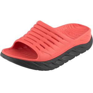 Hoka One One Ora Recovery Slide 2 Sandals Damen ebony/emberglow ebony/emberglow