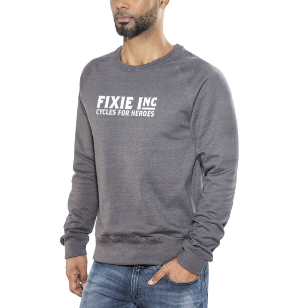 FIXIE Inc. Hero Sweater Unisex melange grey