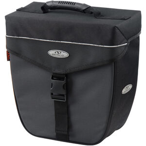 Norco Orlando City-Case Gepäckträgertasche schwarz/grau schwarz/grau