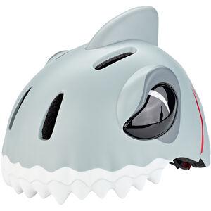 Crazy Safety Shark Helm Kinder grau grau