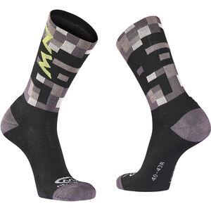 Northwave Core High Socks Herren grey/yellow fluo grey/yellow fluo
