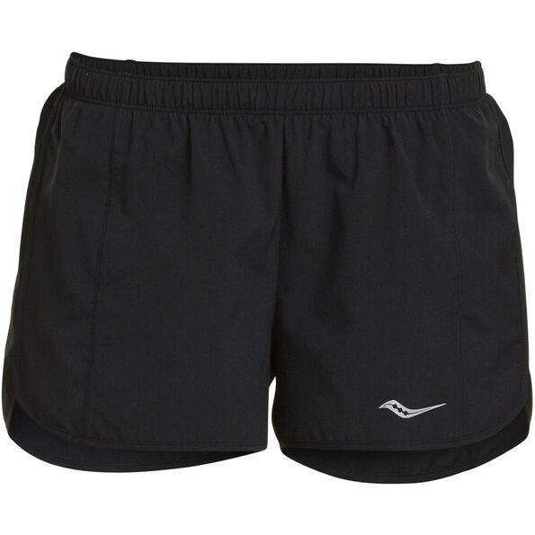 "saucony Rush 3"" Woven Shorts Women Black"