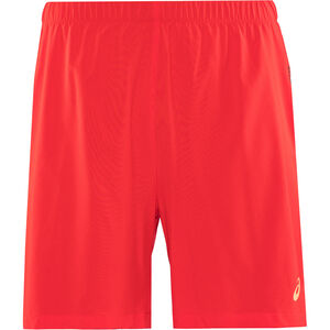 "asics 2-N-1 7"" Shorts Herren classic red classic red"