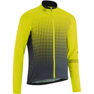 Gonso Julier Full-Zip Langarm Trikot Herren safety yellow safety yellow