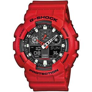 CASIO G-SHOCK GA-100B-4AER Uhr Herren red/red/black red/red/black