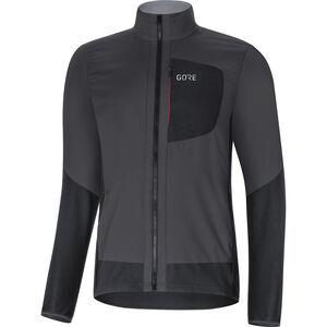 GORE WEAR C5 Windstopper Insulated Jacket Men terra grey/black bei fahrrad.de Online