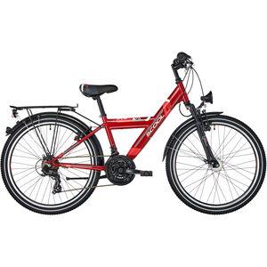 s'cool XYlite 24 21-S steel Darkred Matt bei fahrrad.de Online