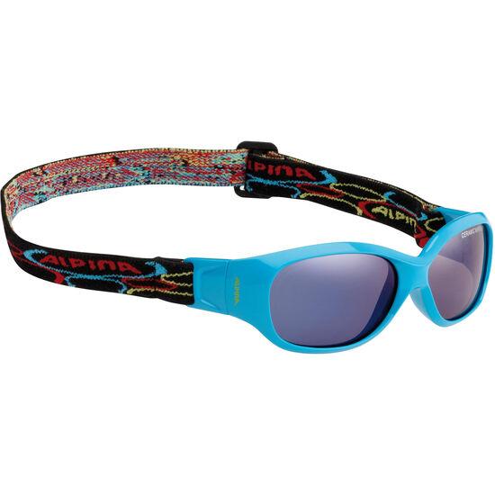 Alpina Sports Flexxy Kids Glasses cyan bei fahrrad.de Online