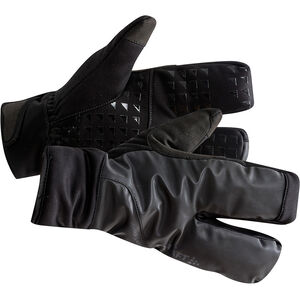 Craft Siberian 2.0 Split Finger Gloves black black