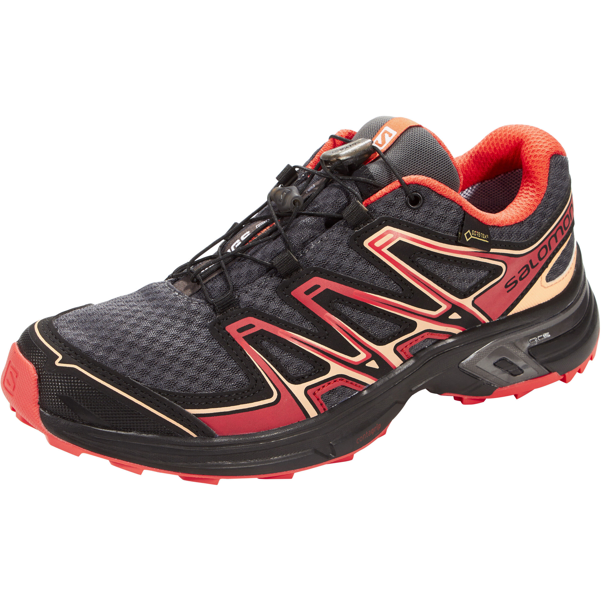 Salomon Wings Flyte 2 GTX Shoes Damen magnetblackliving coral